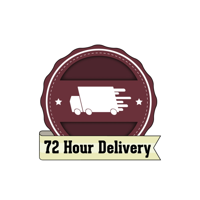 72-Hour-Delivery